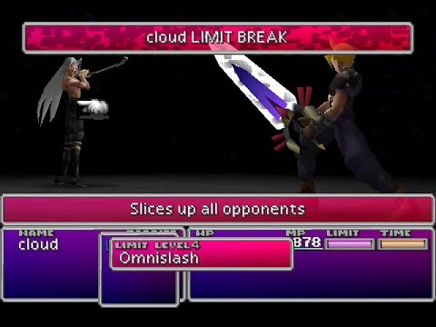 Final Fantasy 7 Debug Room Part 7