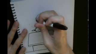 Speed Drawing: Snoopy