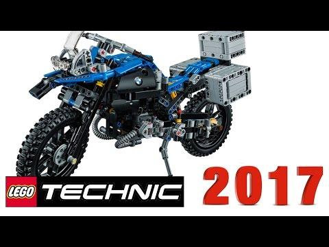 Новинки LEGO Technic 2017 года мотоцикл BMW R 1200 R Adventure (42063)