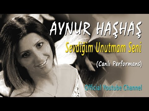 Aynur Haşhaş - Sevdiğim Unutmam Seni & İçmişim Sarhoşum Bugün (Canlı Performans)
