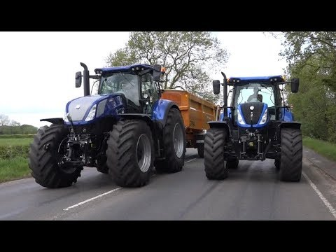 NEW HOLLAND T7 315HD BLUEPOWER REVIEW!