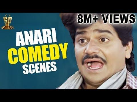 Anari Comedy Scenes | Johny Lever Laxmikant Hilarious Comedy Scene | Karishma Kapoor | Venkatesh: Anari is 1993 Hindi film Starring Venkatesh, Karishma Kapoor in lead roles. Directed by K. Murali Mohana Rao, produced by D. Rama Naidu on Suresh Productions banner and music composed by Anand–Milind.   Suresh Productions (Telugu: సురేష్ ప్రొడక్షన్స్) is a film production company, a subsidiary of Rama Naidu Studios, founded by Dr. D. Ramanaidu. The production house of the company is Ramanaidu Studios which is located in Hyderabad. Suresh Productions is one of India's largest film production companies with over 50 years of contribution to national and regional cinema.   Click here to watch :  Nene Raju Nene Mantri Theatrical Trailer : https://www.youtube.com/watch?v=0WVqKbGN3RI  Anari Hindi Full Movie: https://www.youtube.com/watch?v=EGkck-FWagc  Anari Movie Video Songs Jukebox : https://www.youtube.com/watch?v=hx2yNyVEse8  Kya Mousam Aya Hai Video Song: https://www.youtube.com/watch?v=nJax30BPyC0  Subscribe us :  Youtube: https://www.youtube.com/user/sureshproductions Facebook: https://www.facebook.com/SureshProductions  Twitter: https://twitter.com/SureshProductions