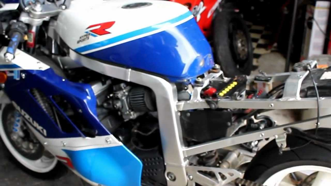1989 SUZUKI GSXR 750....FOR SALE - YouTube