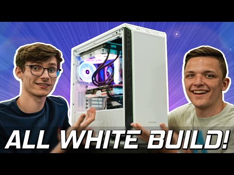 Our CRAZY WHITE Gaming PC Build Guide 2019! (Feat Geekawhat)