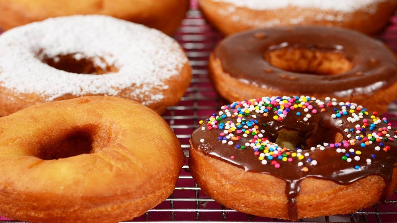 Cake Doughnuts Recipe Demonstration Joyofbaking Com Youtube