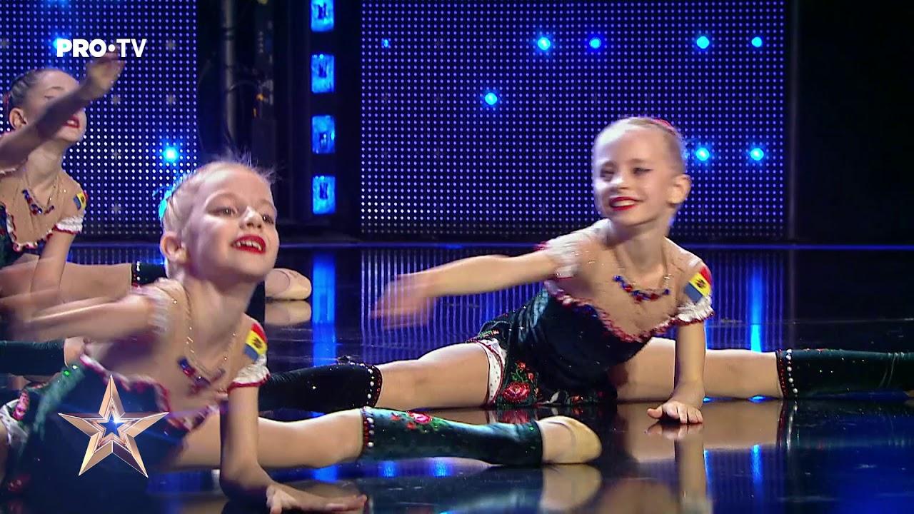 Micile gimnaste fac spectacol | Gloria Style Kids - Românii au Talent