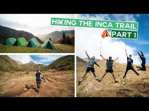 Hiking The Inca Trail - Leaving To Machu Picchu | Peru Vlog