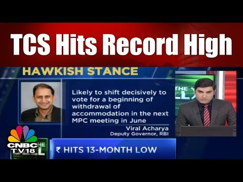 After the Bell | TCS Hits Record High | TCS Iches Away From $100 Bn Market Cap | CNBC TV18