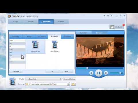How to convert MP4 to MKV with DVDFab Video Converter