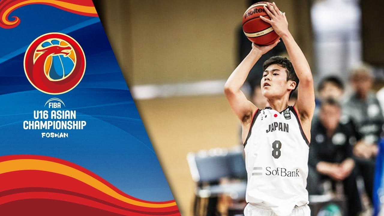LIVE 🔴 - Japan v Korea - Class 5-6 - FIBA U16 Asian Championship