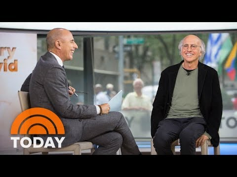 Larry David To Matt Lauer: 'Curb' Spoilers Are 'None Of Your Business'   TODAY