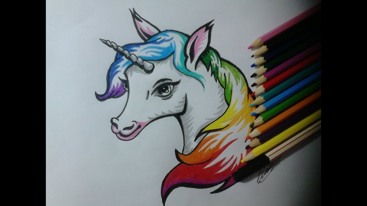 Como Desenhar Um Unicornio Tumblr How To Draw A Unicorn Tumblr