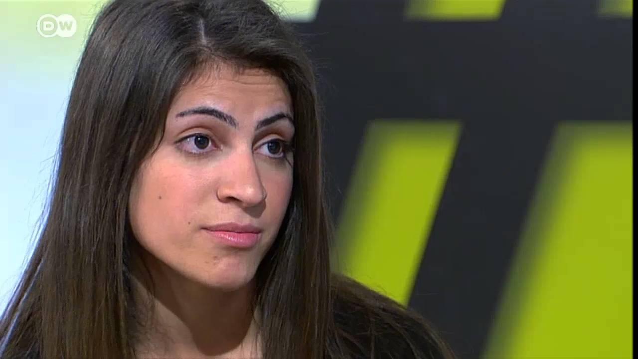 فتاة أيزيدية اغتصبها أفراد داعش: