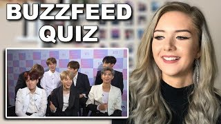 """""""Which Member Of BTS Are You?"""" Quiz reaction // ItsGeorginaOkay"""