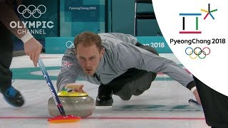 GB Curling keep their hopes alive after win vs. Italy  | Day 9 | Winter Olympics 2018 | PyeongChang