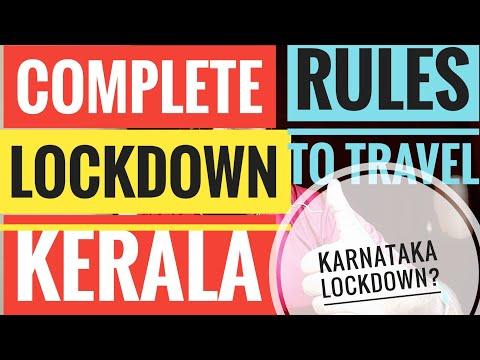 COMPLETE LOCKDOWN IN KERALA RULES TO INTERSTATE TRAVELS KARNATAKA RESTRICTIONS RT-PCR JAGRATHA ePass