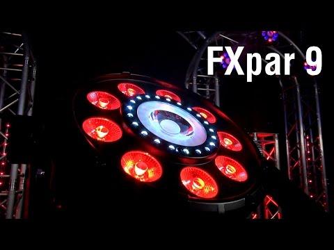 FXpar 9 by CHAUVET DJ