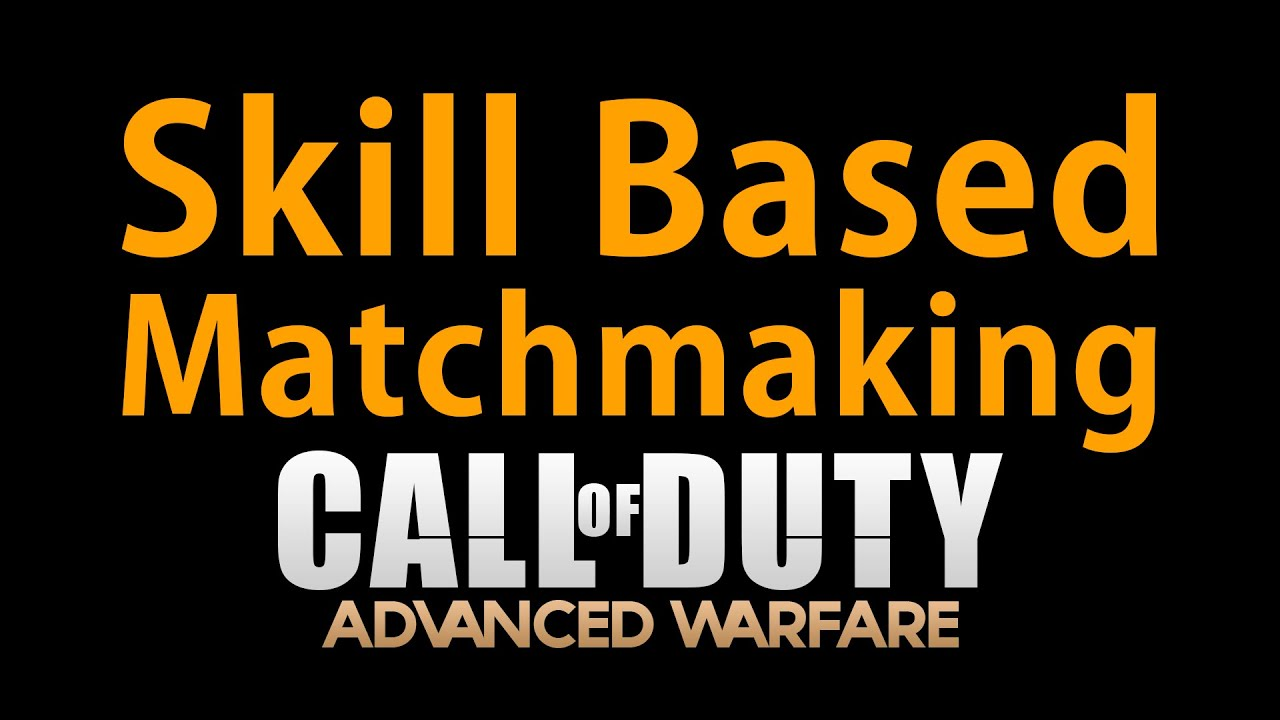 How does matchmaking work in advanced warfare