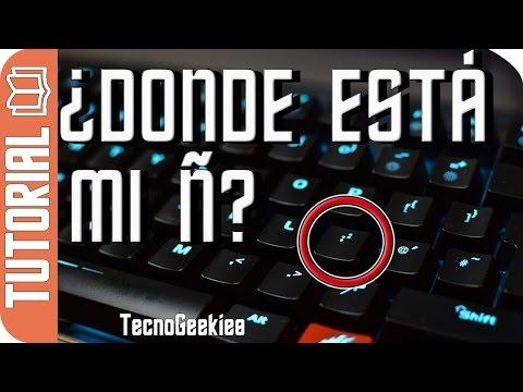 Teclado sin Ñ - Escribir en Español con un teclado Extranjero sin Ñ