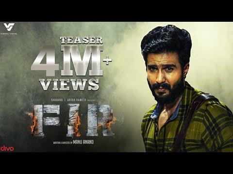FIR - Official Teaser | Vishnu Vishal, Gautham Menon, Manjima Mohan