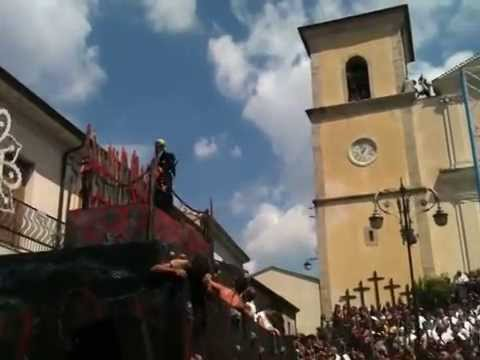 GESUALDO.EU VOLO DELL'ANGELO 2014 festa di S. VINCENZO FERRERI