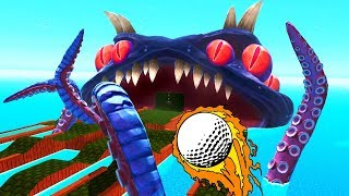 ГДЕ У КРАКЕНА ЛУНКА  Golf With Your Friends 4 Прохождение