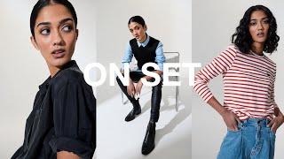 ON SET | Fashion Photography - Simple 1 & 2 Light Studio Setup screenshot 2