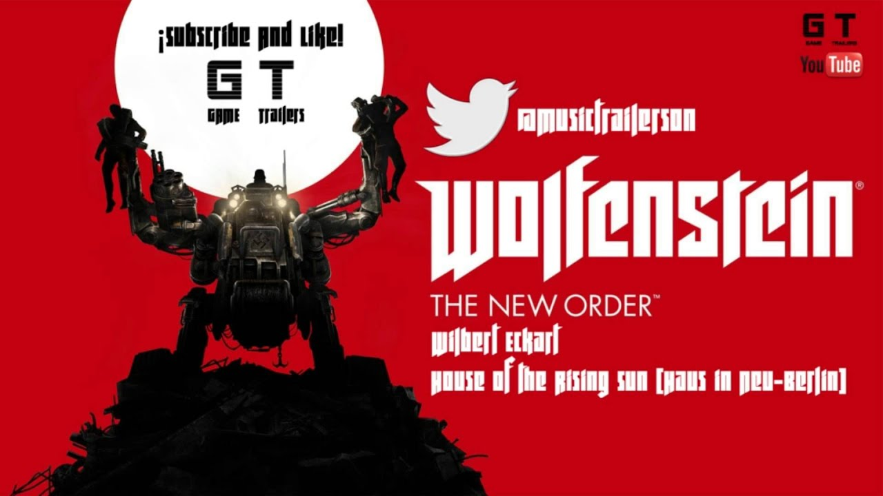 Wolfestein the new order wilbert eckart house of the rising sun