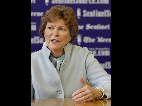 U.S. Sen. Jeanne Shaheen at The Sentinel's editorial board
