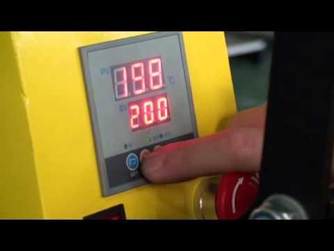 d53d443ec678 Πρέσσα θερμομεταφοράς HP3804D - YouTube