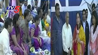 Satyanarayana Swamy Vratham By Telugu NRIs At Hindu Temple Of Virginia | TV5 News