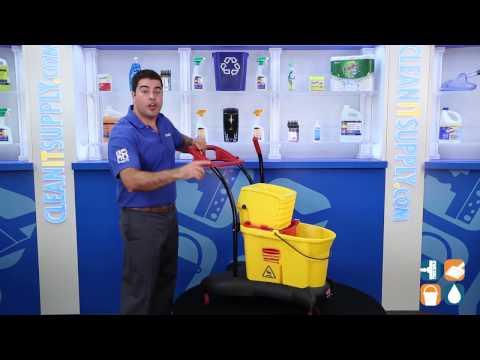 dual bucket cyclonic mop instructions