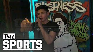Ryan Garcia Rages at Victory Party, 'How About that F'ing Left Hook?!' | TMZ Sports