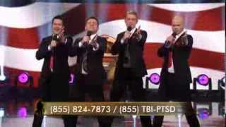 Under the Streetlamp Performs on the Military Channel for the Homeward Bound Telethon
