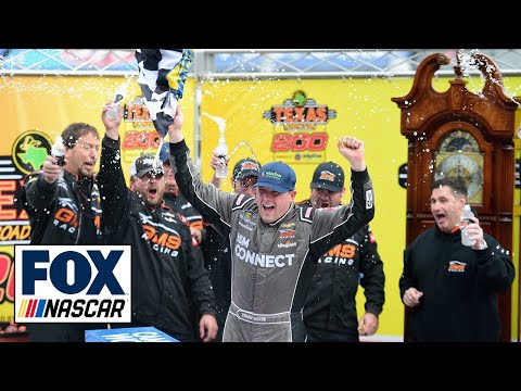 Johnny Sauter scores his 4th win at Martinsville and spot in the Championship 4   MARTINSVILLE 2018
