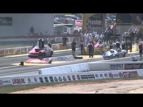 Kevin Kleinweber vs Ray Connolly 2011 US Nationals Super Gas Round 3