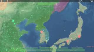[ROBLOX] Rise of Nations: First Try at Imperial Japan's takeover of Asia/China (2)