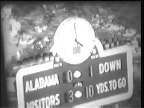 1963 Florida vs Alabama Part 1 of 2