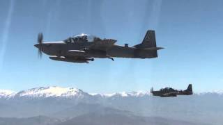 a 29 super tucanos fly over kabul afghanistan 04 28 2016