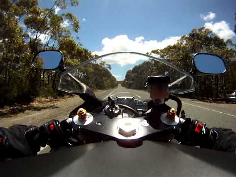 Ride through the Sydney Royal National Park