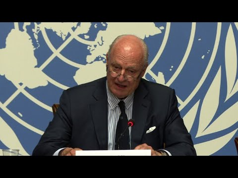 UN envoy sees potential for progress in Syria peace talks