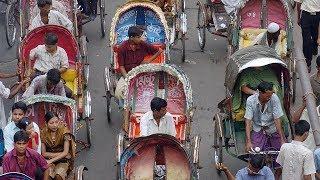 Тысячи велорикш в Бангладеш продолжают крутить педали, несмотря на ограничения (новости)