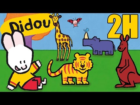 2 heures de Didou, didou dessine-moi les animaux du Zoo   Compilation #4