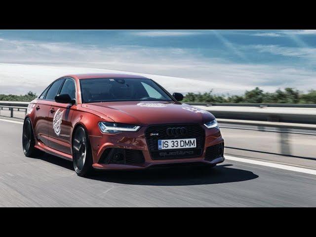 Visul fanilor Audi! Singurul Audi RS6 Performance Sedan!!! Interviu AutoBlogMD