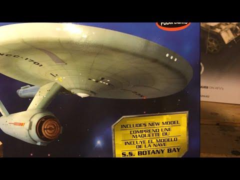 Ma.K. WIP decals 🤖Polar Lights USS Enterprise + S.S. Botany Bay unboxing 📦 livestream 4/25/2018