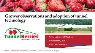 Grower Observations and Adoption of Tunnel Technology