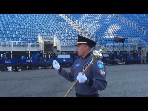 America's top Air Force ROTC cadet also leads America's Band 2015