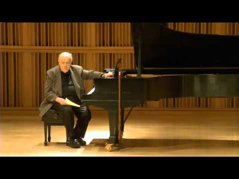 """""""The Challenges of Modernist Music"""" with Charles Rosen"""