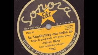Anders Börje Sven Arefeldts orkester - Se Sundbyberg och sedan dö