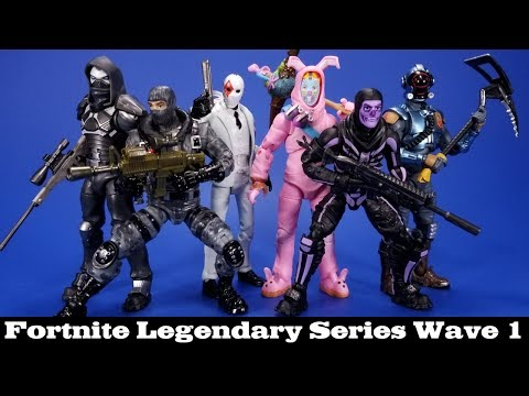 Jazwares Fortnite Legendary Series Rabbit Raider Visitor Enforcer Havoc Wildcard And Skull Trooper R